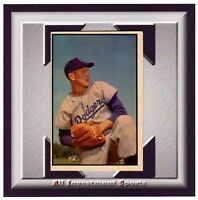 1953 Bowman RUSS MEYER #129 VG-EX+ *awesome baseball card for your set* M46C