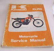 Kawasaki KL250 Motorcycle Service Manual (Original)