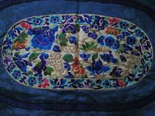 Antique Chinese Qing Dynasty Silk Embroidery Fragment