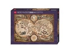 HY29666 - Heye Puzzles - 2000 Pc - Vintage World