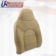2000 Ford F450 Lariat Front Driver Side Lean Back Replacement Leather Cover Tan