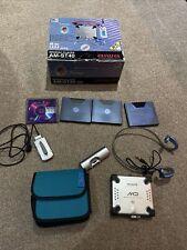 AIWA AM-ST40 Minidisc Player - With Box - 4 x Minidisc's, Case, Headphones Etc