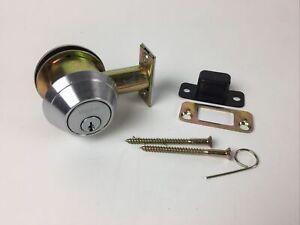 SCHLAGE B660P commercial deadbolt - satin nickel