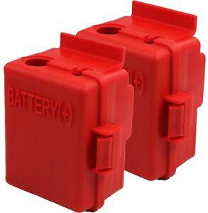 2PACK- GM/Hummer RED H2 OEM Battery Junction Block - Battery (+) 10mm x 1.5 Stud