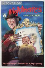 NIGHTMARES ON ELM STREET #3 - 1991 INNOVATION COMICS horror Freddy Krueger - NM