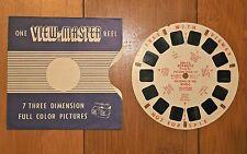 Viewmaster Reels Foto Tour naciones del mundo Dre 9 e carrete de demostración