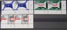 Ned. - Serie paren 75 jaar Nederlandse luchtvaart 1994 postfris met Etsingnrs.