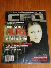 CFQ CINEFANTASTIQUE OCTOBER NOVEMBER 2003 KILL BILL ALIAS US MAGAZINE (A) =