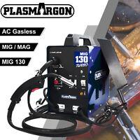 130 MIG Welder Automatic Feed Flux Core Wire Welding Machine Gasless 110V 60HZ