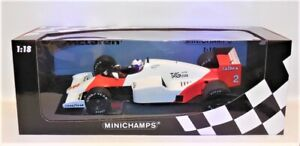 1/18 Minichamps 530 851802 McLaren MP4/2B # 2 Alain Prost 1985 World Champion