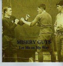 (DA302) Misery Guts, Let Me On My Way - 2012 DJ CD