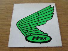 GREEN HONDA HM WINGS LEFT HAND DECAL ALL CLASSIC MODELS