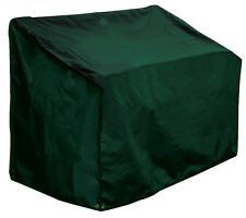 Bosmere 3 Seat Seater Garden Bench Cover - Heavy Duty Green Polyester C610