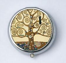 Klimt Tree of Life PiLL case box holder Art Nouveau fine art painting DIY