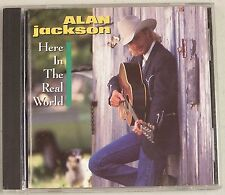 Here in the Real World by Alan Jackson (CD, Feb-1990, Arista)