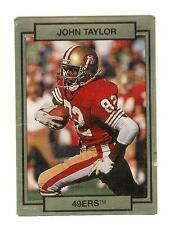 John Taylor 49er del 1990 TRADING CARD # 249 con effetto 3D