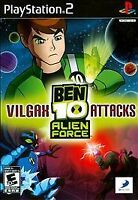 BEN 10: ALIEN FORCE: VILGAX ATTACKS PS2 PLAYSTATION 2 DISC ONLY