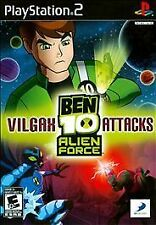 Ben 10 Vilgax Attacks PS2 (Sony PlayStation 2) COMPLETE in BOX / BLACK LABEL