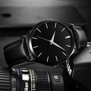 Fashion Men's Watches Stainless Steel Mesh Band Quartz Analog Wrist Watch Sport