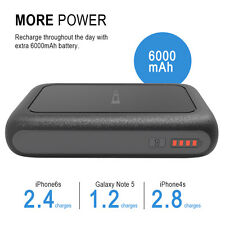 6000mah Portable Power Bank 2USB Dual LED Battery Charger For iPhone7 7Plus