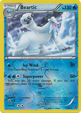Beartic Rare Reverse Holo Pokemon Card BW2 Emerging Powers 31/98