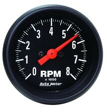 Autometer 2698 Z-Series Tachometer Gauge, 2-1/16 in., Electrical