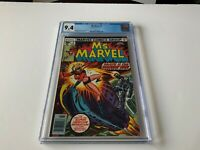 MS. MARVEL 3 CGC 9.4 WHITE PAGES CAROL DANVERS DOOMSDAY MAN MARVEL COMICS 1977