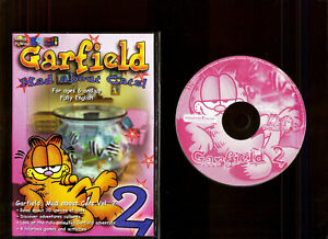 GARFIELD MAD ABOUT CATS! VOLUME 2. EDUCATIONAL/GAMES SOFTWARE FOR AGES 6 UP. PC!