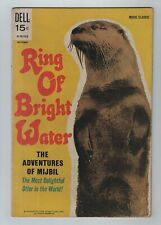 DELL 1969 Movie Classic RING OF BRIGHT WATER Most Delightful Otter VG/FN 5.0