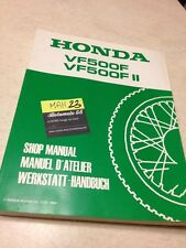 Honda VF500 F F2 VF 500 VFF VF500F revue technique workshop service Manuel
