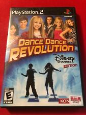 Dance Dance Revolution: Disney Channel Edition (Sony PS2, 2008) (CIB) (GD)