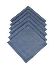 Cotton Napkins Canal Blue 6/pack