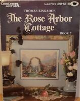 The Rose Arbor Cottage Counted Cross Stitch 1 Pattern