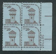 Scott # 1604.28 Cent.Fort. Plate Block
