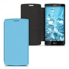 Flip Cover für LG G4 mit Kunstlederbezug Hellblau