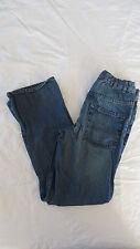 Boys Children's Place Adjustable Stone Wash Boot Cut Semi-Evase Jeans Size 16 #2