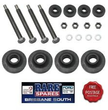 RUBBER FRONT END MOUNTING KIT SUIT EARLY FJ HOLDEN WITH 2 THICK & 2 THIN RUBBERS