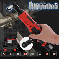 18V 3/8'' Drive Cordless Electric Ratchet Impact Wrench Tool