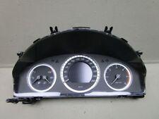 Mercedes clase c w204 s204 07-11 combinaciones de velocímetro instrumento a2049003702