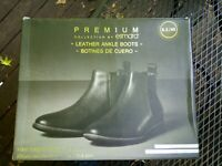 NIB Esmara Premium Leather Boots by Heidi Klum Size Women's 8.5 EU 40
