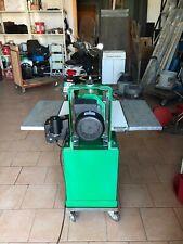 vendo levigatrice a rullo abrasivo e piano di trascinamento  automatico