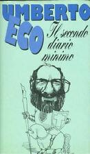 Umberto Eco, Diaro minimo, cartonato ottimo