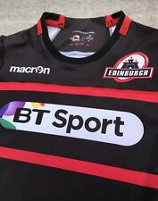 Macron Edinburgh Rugby Match Kit Jersey Shirt Scotland
