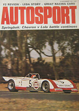 AUTOSPORT magazine 16/12/1971 featuring Mercedes, British Leyland Maxi road test