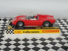 FLEISCHMANN années 1960 ALFA ROMEO ROUGE #215 1:32 New old stock Boxed