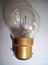 Lampe blanche 24V 60W B22 NEUVE (ampoule baladeuse, camping-car, caravane...)