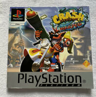 Crash Bandicoot 3 Warped Instruction Manual Booklet Platinum Edition