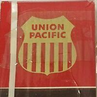 Union Pacific Railroad  Match Books  2 pk.  Vintage  C. 1960's   -C-