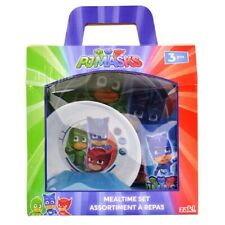 PJ Masks 3-Piece Dinner Set, Inc Plate, Bowl and Cup
