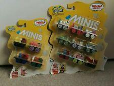 Thomas & Friends Minis - SpongeBob Squarepants - 9 Pack & 4 Pack - New & Sealed